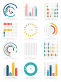 Set of infographics elements Stock Photos