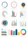 Set of infographics elements Royalty Free Stock Photos