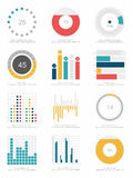 Set of infographics elements Royalty Free Stock Photo
