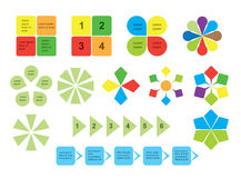 Set of infographics - elements - vector Royalty Free Stock Photography