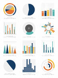 Set infographics elementy Obraz Royalty Free