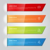 Set of infographics template. vector illustrator. Set of infographic design template. Vector illustration for for business, education,  banners, brochures Stock Image