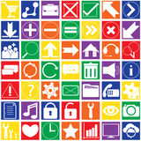 Set Infographics web icons or design elements Stock Photo