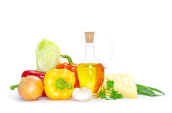 Set of ingredients Royalty Free Stock Photography