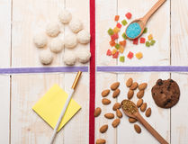 Set of ingredients for cooking Stock Photography