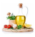 Set of ingredients and spice for food cooking Stock Photography