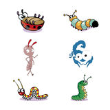 Set of Insect Vector Stock Images