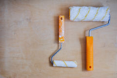 Set of instruments for painting walls Stock Images