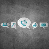 Set of interface icons Royalty Free Stock Photo