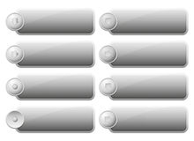 Set of Internet Buttons Royalty Free Stock Images