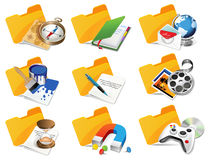 Set of Internet icons. Royalty Free Stock Photo
