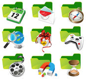Set of Internet icons. Royalty Free Stock Photography
