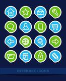 Set Internet icons Stock Image
