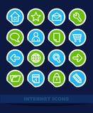 Set Internet icons Stock Image