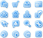 Set of internet icons. Stock Photos
