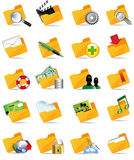 Set of internet icons. All elements are individual objects. Vector illustration scale to any size Stock Images