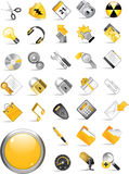 Set of internet icons. Stock Photography