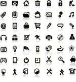 Set of internet icons. Stock Image