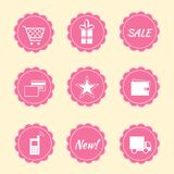 Set of internet shop icons Royalty Free Stock Image