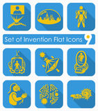 Set of invention icons Stock Images
