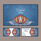 Set of invitation wedding cards with place for text Royalty Free Stock Photo