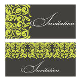 Set of invitations Royalty Free Stock Images