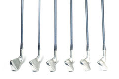 Set of iron golf club. Stock Photography