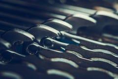 Set of Iron Wrenches stock photo