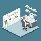 Set of isometric business people , info graphic  design Stock Image