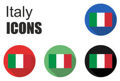 Set italy icons Stock Photography