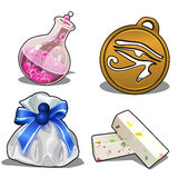 Set of items for games or other design needs Stock Photography