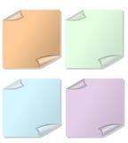 Set ja tapetuje w różnych kolorów wariantach Obraz Royalty Free