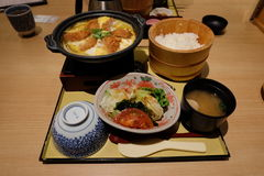 Set of Japanese food Royalty Free Stock Photography