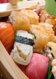 Set of japanese sushi. Royalty Free Stock Photography