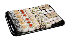 Set of Japanese sushi Stock Photography