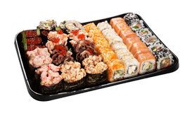 Set of Japanese sushi Royalty Free Stock Image