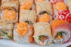 Set of Japanese sushi Stock Images