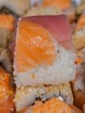 Set of Japanese sushi Stock Photo