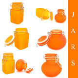 Set of jars Royalty Free Stock Photo