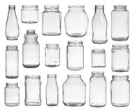 Set of jars Stock Images
