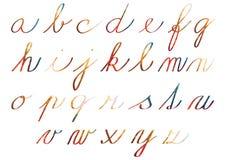 Set jaskrawi mozaik płytek abecadła ilustracja wektor