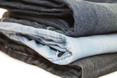 Set of jeans Royalty Free Stock Image