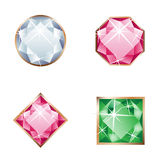 Set of jewel Stock Photography