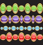 Set of jewelery Royalty Free Stock Image