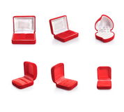 Set of Jewelery box Stock Image