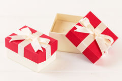 Set of jewelry gift boxes Royalty Free Stock Image