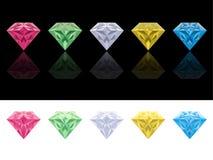 Set of jewels Stock Photos