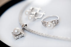 Set of jewels Royalty Free Stock Images