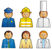 Set job icons 2. Vector illustration Set job icons 2 Stock Illustration