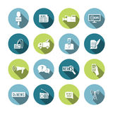 Set of Journalism Icons Stock Image